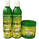 BOE Crece Pelo - Lote de productos para el crecimiento del cabello, mascarilla de 450 g, champú de 370 ml y...