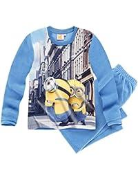 Minions Despicable Me Chicos Pijama polar 2016 Collection - Azul