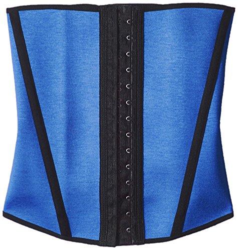 Divafit Women's Waist Trainer, Blue, Large