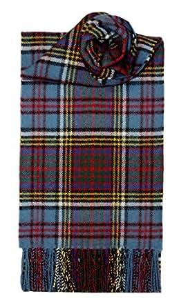Anderson Modern Brushed Wool Tartan Scarf