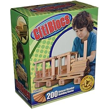 CitiBlocs Wooden Building Blocks (300 Pieces)