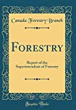 Forestry: Report of the Superintendent of Forestry (Classic Reprint)