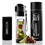 MAMI WATA Fruit Infuser Water Bottle - Create Naturally Flavoured Fruit Infused Water