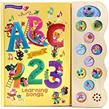 ABC & 123 Learning Songs 10 Button Song Book (Early Bird Song Books)