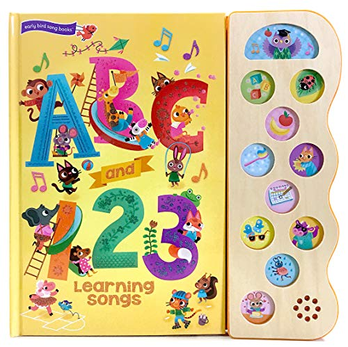 ABC and 123 Learning Songs (Early Bird Song Books) -