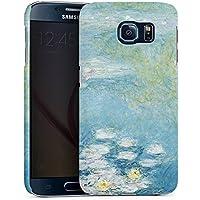 Samsung Galaxy S6 Hülle Premium Case Cover Seerosen Claude Monet Kunst