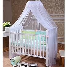 0aa9dd7110 FOXNOVO zanzariera letto, baldacchino Doppelbett, Bianco, 56 * 230 * 700 cm