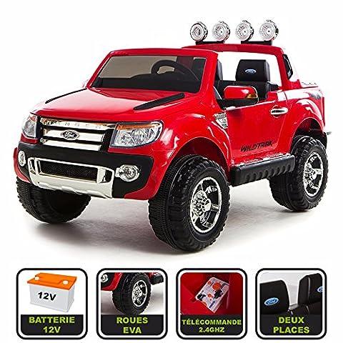 4x4 électrique 12Volts 10Ah Ford Ranger WILDTRAK Cristom® , télécommande