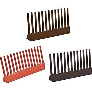 Traufenlüftungskamm - Universal Kunststoff, 55mm x 1m, Farbe Ziegelrot, 10 meter Pack