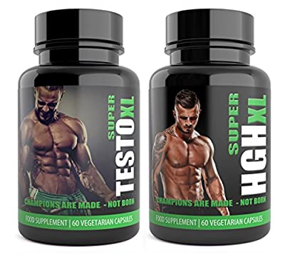 Testosterone Booster Supplement for Men 120 Capsules UK Manufactured Extreme Muscle Growth by Natural Answers