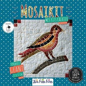 MOSAIKIT Kit de Mosaico Natural Completo - Pájaro Gigante