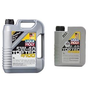 Liqui Moly Top Tec 4100 Motoröl, 5W-40, 6 Liter (5L + 1L)
