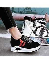 AJUNR Modische/Arbeit/Sandaletten Damenschuhe Einzelne Schuhe Casual Dick Biskuit die Riemen