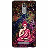 Printland Designer Back Cover For Xiaomi Redmi Note 3 - Buddha Cases Cover best price on Amazon @ Rs. 399