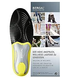 BERGAL Multi Control - Einlegesohlen - anatomisch geformtes und extrem Leichtes Fußbett für mehr Komfort Gr. 38