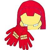 Set de guantes y gorro de invierno para niño con diseño de los...