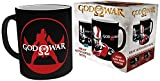 God Of War GB Eye LTD, Kratos, Taza Mágica cambiante de Color