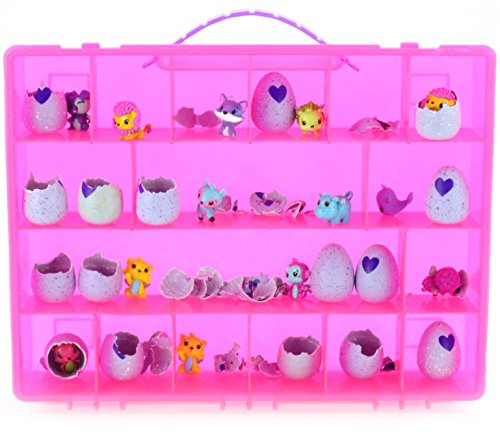 Life Made Better My Egg Storage Box Organizer by - Compatible with Hatchimals and Hatchimal Colleggtibles - Pink
