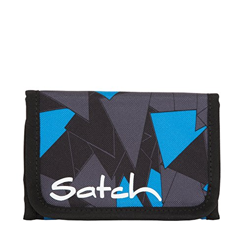 Satch Geldbeutel Blue Triangle 9D6 dreiecke blau - Blues Dreieck