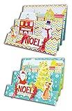 Toga KCN07 Kit de 10 Cartes de vœux Papier Multicolore 10 x 15 x 0,2 cm