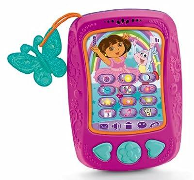 Dora la Exploradora - Nuevo móvil de Dora, juguete para bebé (Mattel Y5618) de Mattel