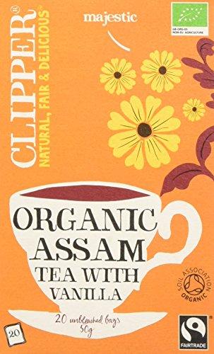 Clipper Tè Assam alla Vaniglia Bio - 20 Filtri
