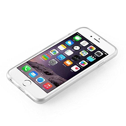 iPhone 7 Hülle von licaso® für das Apple iPhone 7 aus TPU Silikon Not my PROB-LLAMA Lama Spucke Style Muster ultra-dünn schützt Dein iPhone 7 & ist stylisch Schutzhülle Bumper in einem (iPhone 7, PROB Fuck Off Rainbow