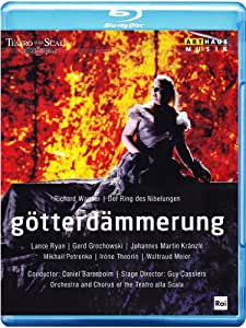 WAGNER: Gotterdämmerung (Live recording from the Teatro alla Scala, Milan, 2013) [Blu-ray]