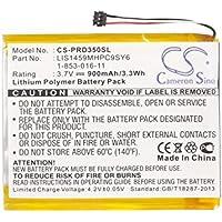 CS 900mAh Li-Polymer Akku Passend für Sony PRS-350 PRS-350SC PRS-650 PRS-650BC PRS-650RC, ersetzt Sony 1-853-016-11 LIS1459MHPC9SY6)
