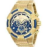 Invicta Bolt Reloj de hombre cuarzo correa y caja de acero dial azul 25542