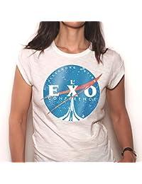 T-Shirt officiel de L'Exoconférence d'Alexandre Astier - Femme, manches courtes