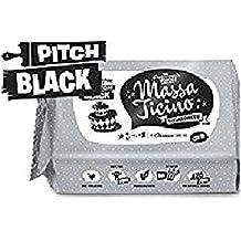 Barry Callebaut Massa Ticino Tropic Rollfondant schwarz Flowpack, 1 kg