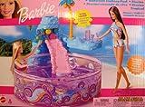BARBIE WATERFALL FANTASY POOL Playset w Working WATERFALL (2002 Multi-Lingual Box) by Barbie