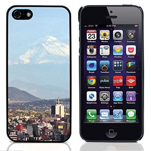 Graphic4You Monaco Postkarte Ansichtskarte Design Harte Hülle Case Tasche Schutzhülle für Apple iPhone 5 und 5S Design #1