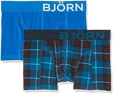 Björn Borg Men's Bb Check, 2-P Boxer Shorts
