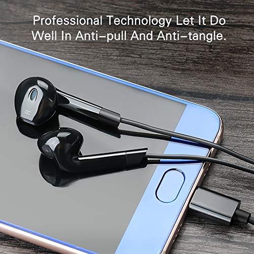 SHAIMU Earphone EPA-103 Headphone Headset for Apple iPhone 5s, 5, 6, 6s Plus SE & iPad Devices (Type4, Black) Image 5
