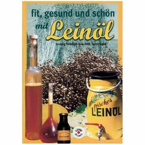 Heft 'fit, gesund und schön mit Leinöl'
