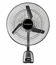 Crompton Storm High Speed 450mm 1400rpm Wall fan (Grey)