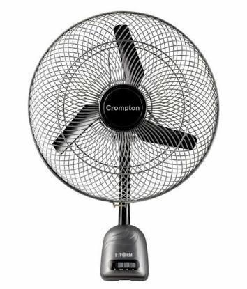 Crompton Storm High Speed 450mm 1400rpm Wall fan (Grey)