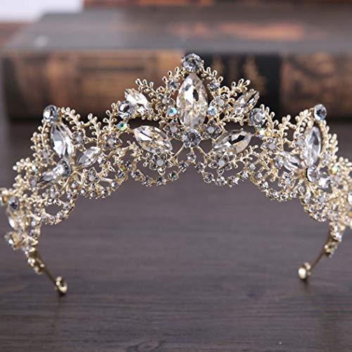 Tiaras & Haarreifen Braut-accessoires Der GüNstigste Preis Diadem Hochzeit äSthetisches Aussehen
