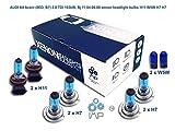 Helle Xenon-Scheinwerferbirnen| Zum Selbsteinsetzen, einfach einsetzbar |Paare mit H11 H7 H7 mit gratis Seitenlichtbirnen