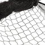 12 * 4M Rete Anti Uccelli Protezione di Giardino Nylon Rete di Protezione Uccelli Recinto in Rete Metallica Recinzione per animali e piante agricoltura Giardino Maglia 2.5 * 2.5cm