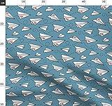 Papierflieger, Flugzeuge, Valentinstag, Valentinskarte,