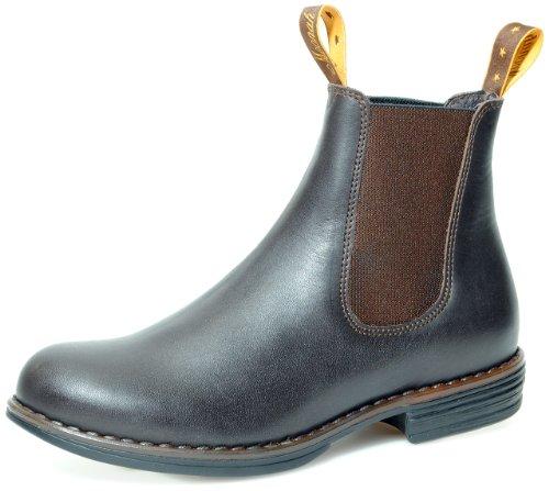australian-moonah-style-bottes-chelsea-cuir-marron-marron-marron-taille-37-eu