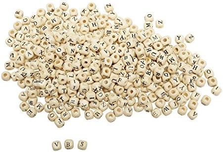 VBS 400 Perles Lettres en Bois, Bois, Bois, Gros acheteurs B075BFMZLD | D'ornement  4e9537