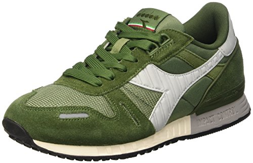 Diadora Titan Ii, Scarpe Low-Top Unisex - Adulto, Verde (Olivine/Rifle Green),
