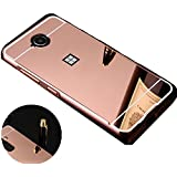 Coque Samsung Galaxy A3 2016 (A310) Etui Housse BACK CASE MIRROIR Coque Arriere RIGIDE ULTRA SLIM ROSE / BRILLANT Protection avec Absorption de Choc Bumper et Anti-Scratch Samsung Galaxy A3 2016 (A310)