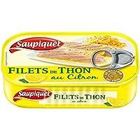 Saupiquet filets thon citron 115g - Prix Unitaire - Livraison Gratuit Sous 3 Jours