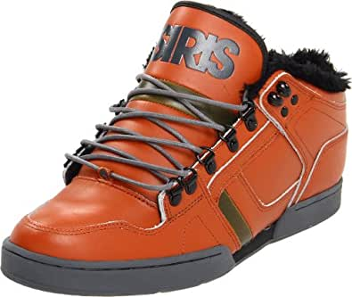 Osiris Shearling Mid Shoes - Rust/Beach/Charcoal Colour (5UK)