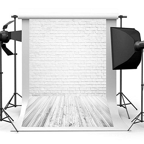 Aisnyho Ziegel Fotografie Hintergründen Hintergrund Kulissen für Video Studio Phtographierer Tapete Bilder Foto Booth Requisiten 1, 5 x 2,1m